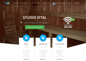 Studio Vital Website
